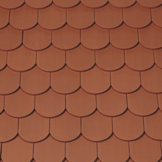 Beaver Tail Tile In All Metals Fine Metal Roof Tech