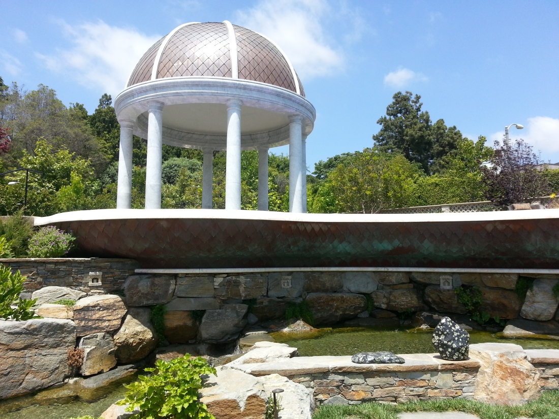 Copper And Marble Dome Gazebo Fine Metal Roof Tech