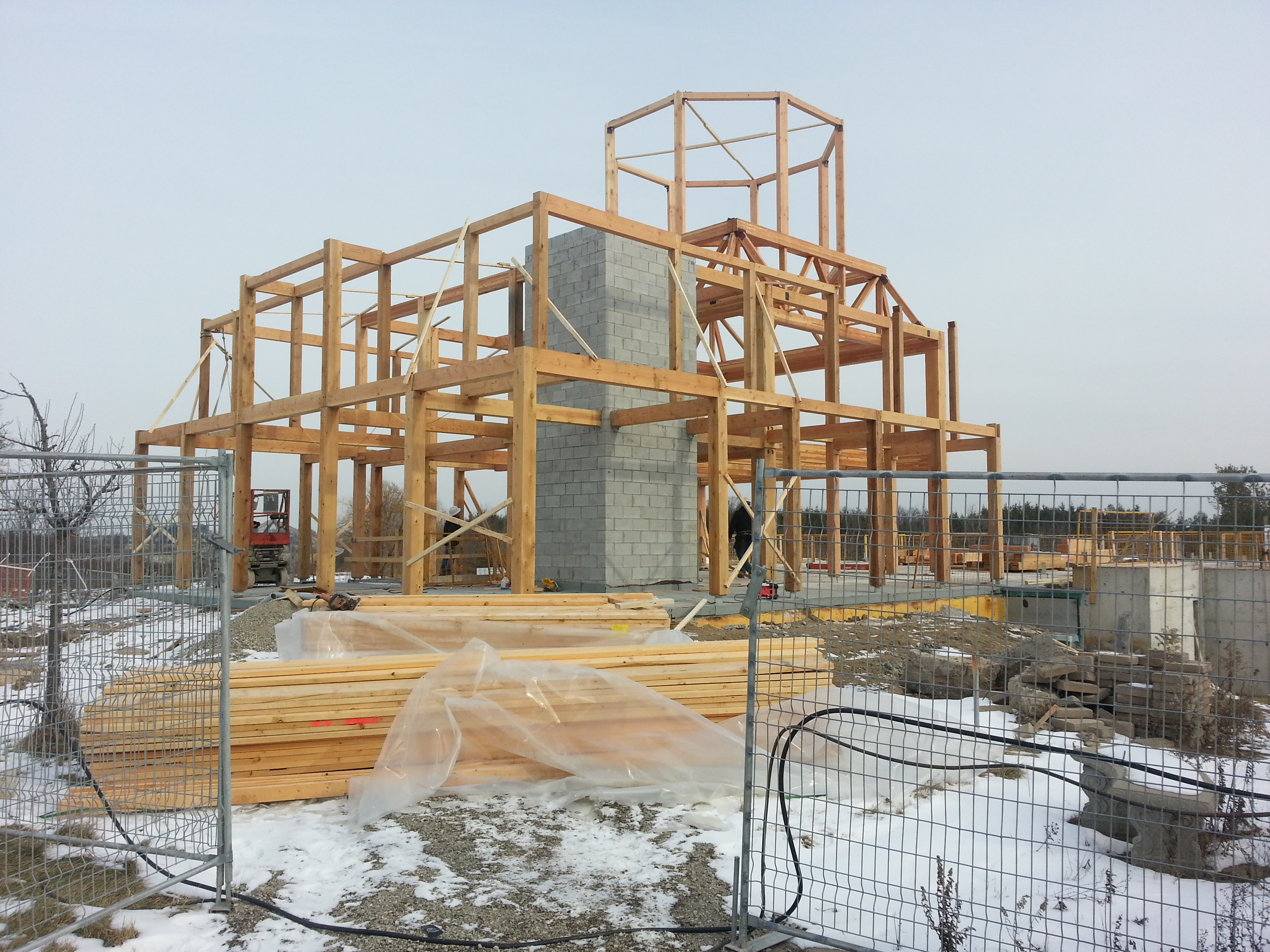 framing for turrets