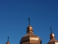 church domes with crosses