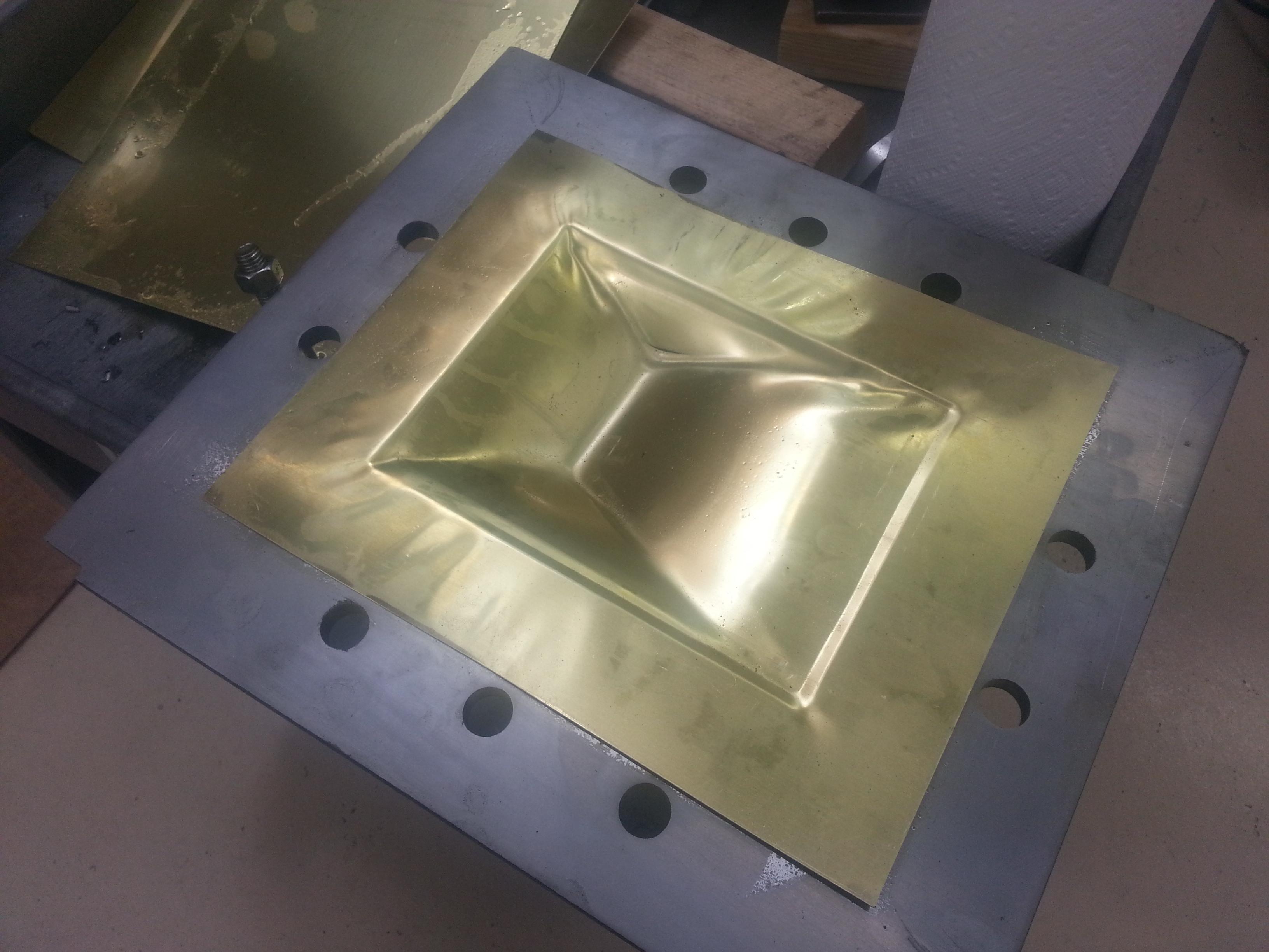 Press mold testing