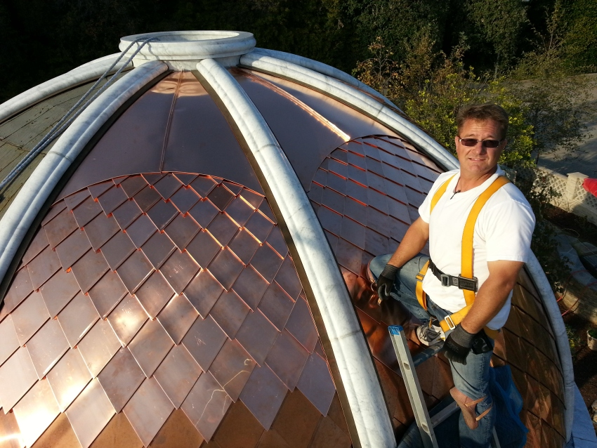 Gallery Of Dome Metal Roofs Fine Metal Roof Tech