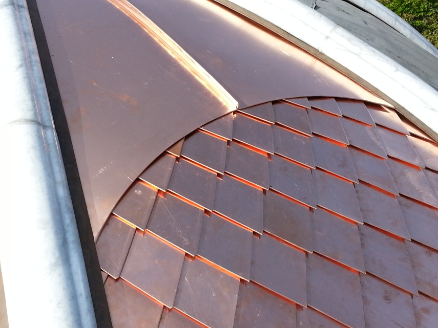 How To Clad A Dome Turret Or Radius Detail With Metal