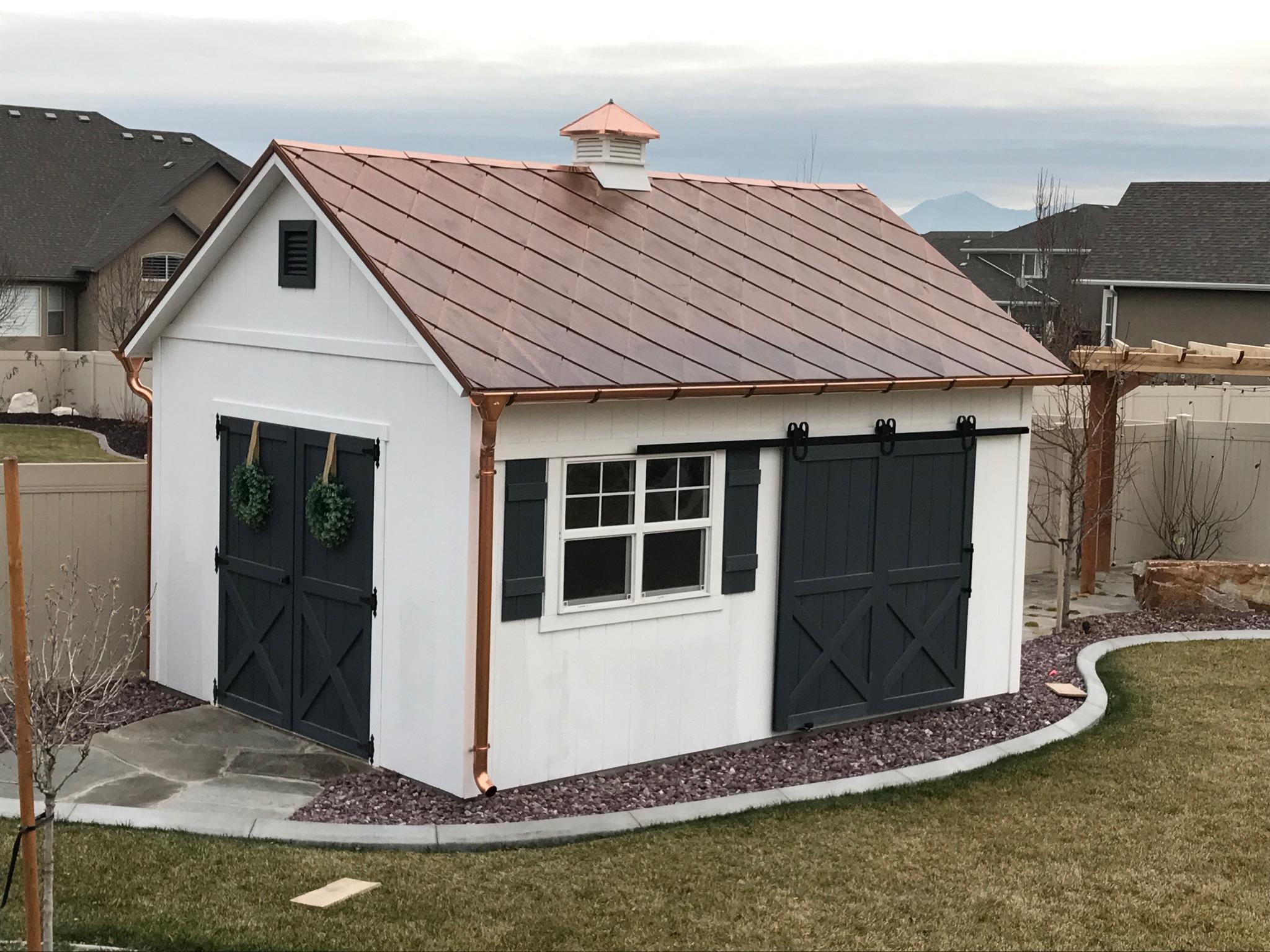 European Half Round Gutter Fine Metal Roof Tech