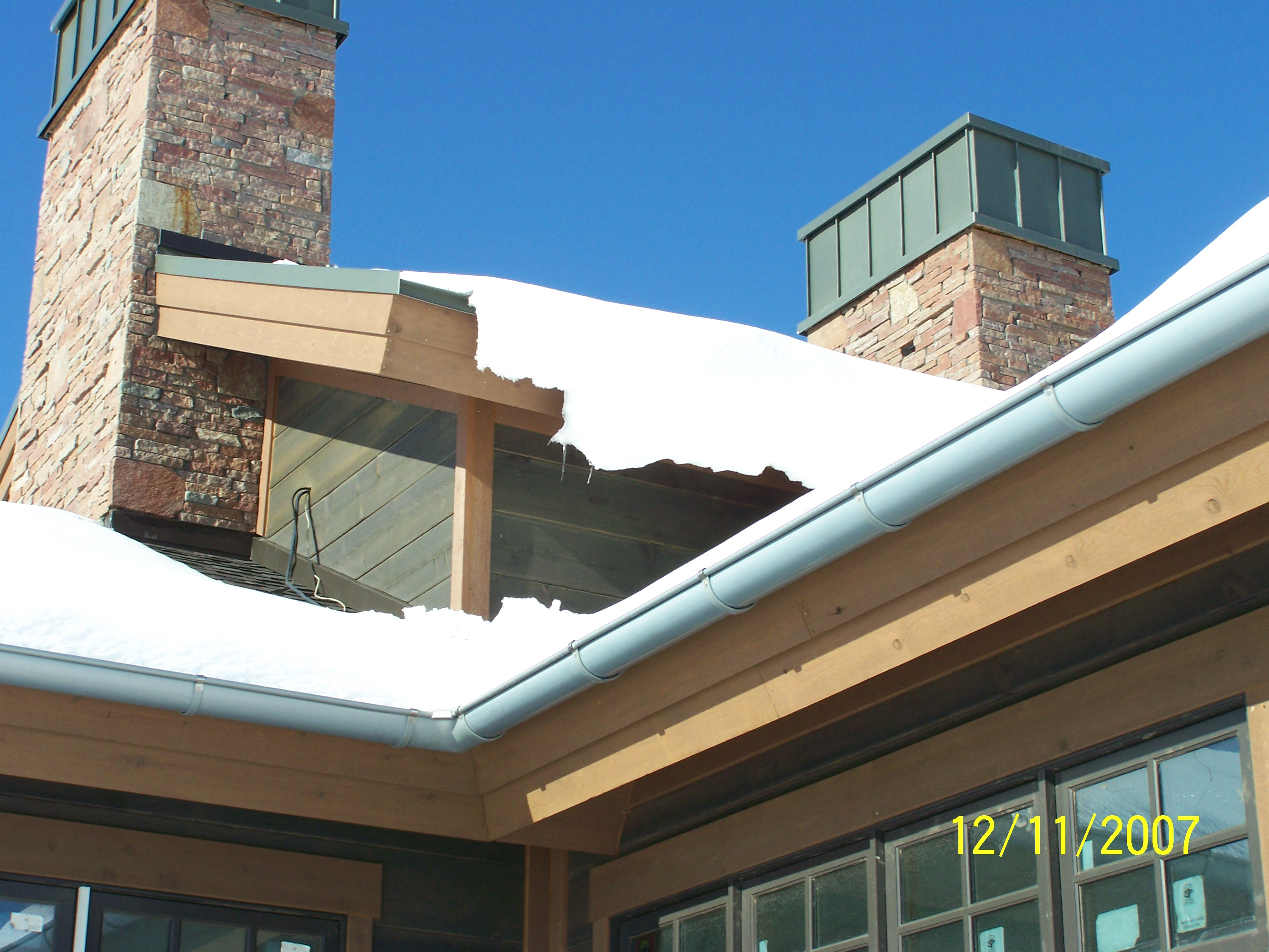 European Half Round Gutter Fine Metal Roof Tech