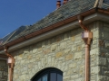 copper gutter, outlet, elbows scupper and downspout