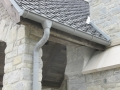 zinc gutter scupper downspout