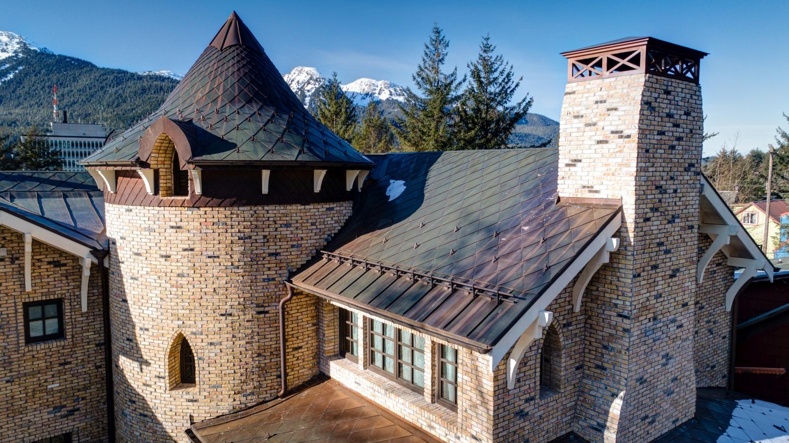 Gallery Of Beautiful Metal Shingle Roofs Fine Metal Roof