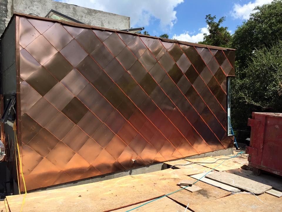 Metal Shingles For Wall Cladding Fine Metal Roof Tech