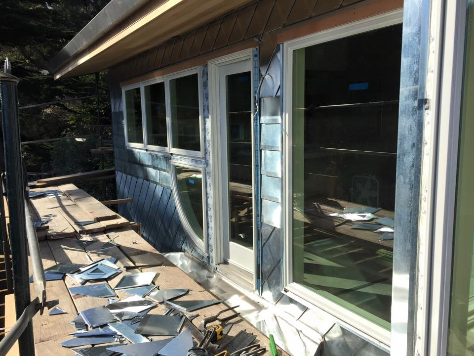 Metal Shingles For Wall Cladding Fine Metal Roof Tech