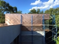 Copper shingle cladding