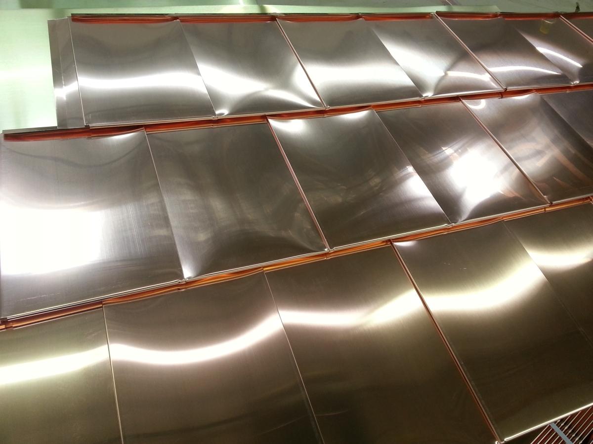 copper horizontal layout Quadro panels