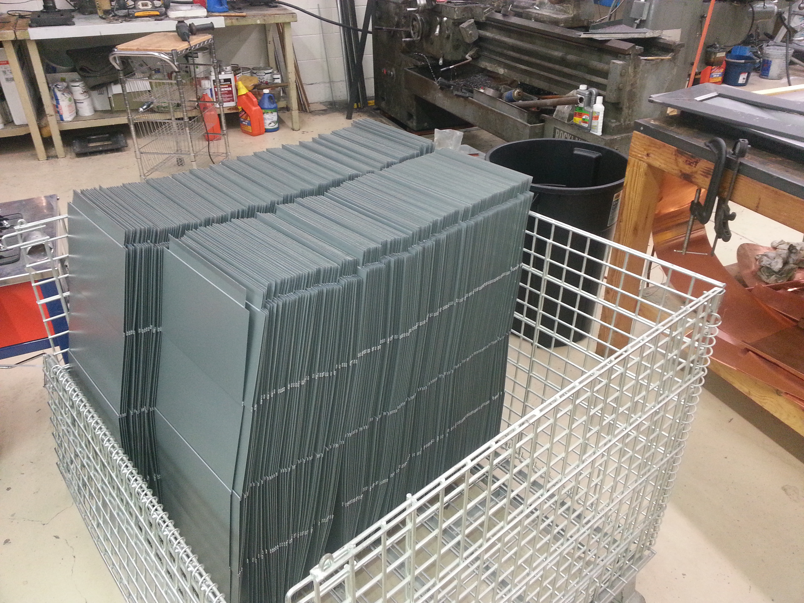 Zinc Quadro Panels