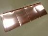 copper Quadro roof panels