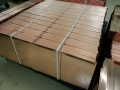 copper Quadro roof panels packaging