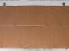 aluminum Quadro panels with rustic paint finish