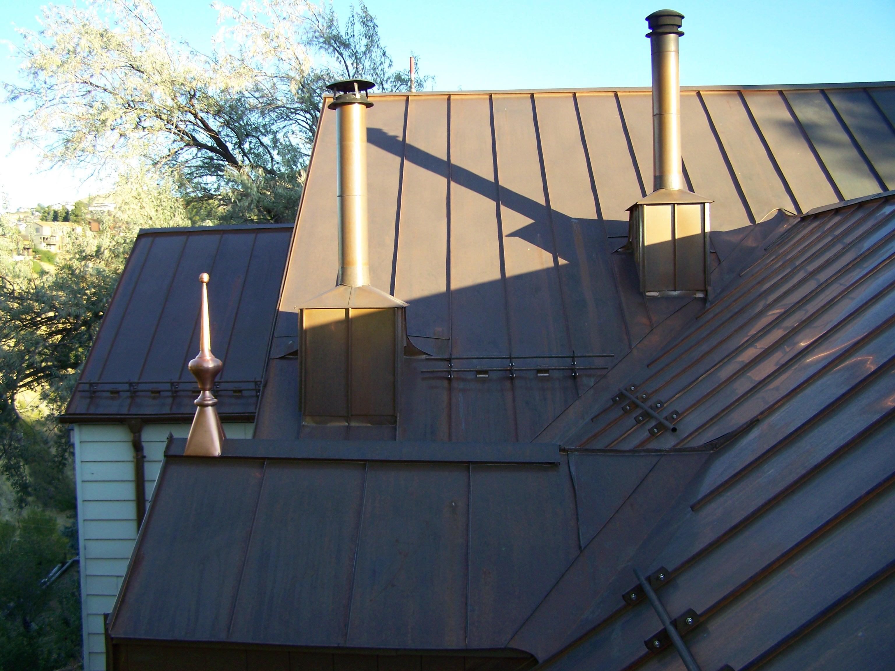 Metal Roof Ridge And Hip Caps Fine Metal Roof Tech