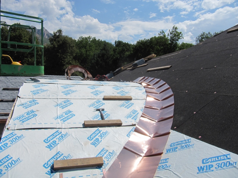 Continuous Round Metal Roof Valley Fine Metal Roof Tech