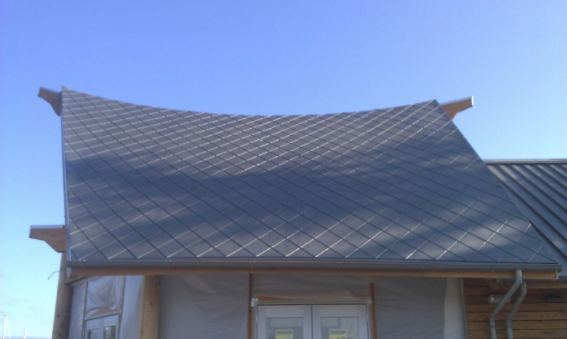 Metal Shingles For Turret Roofs And Domes Fine Metal