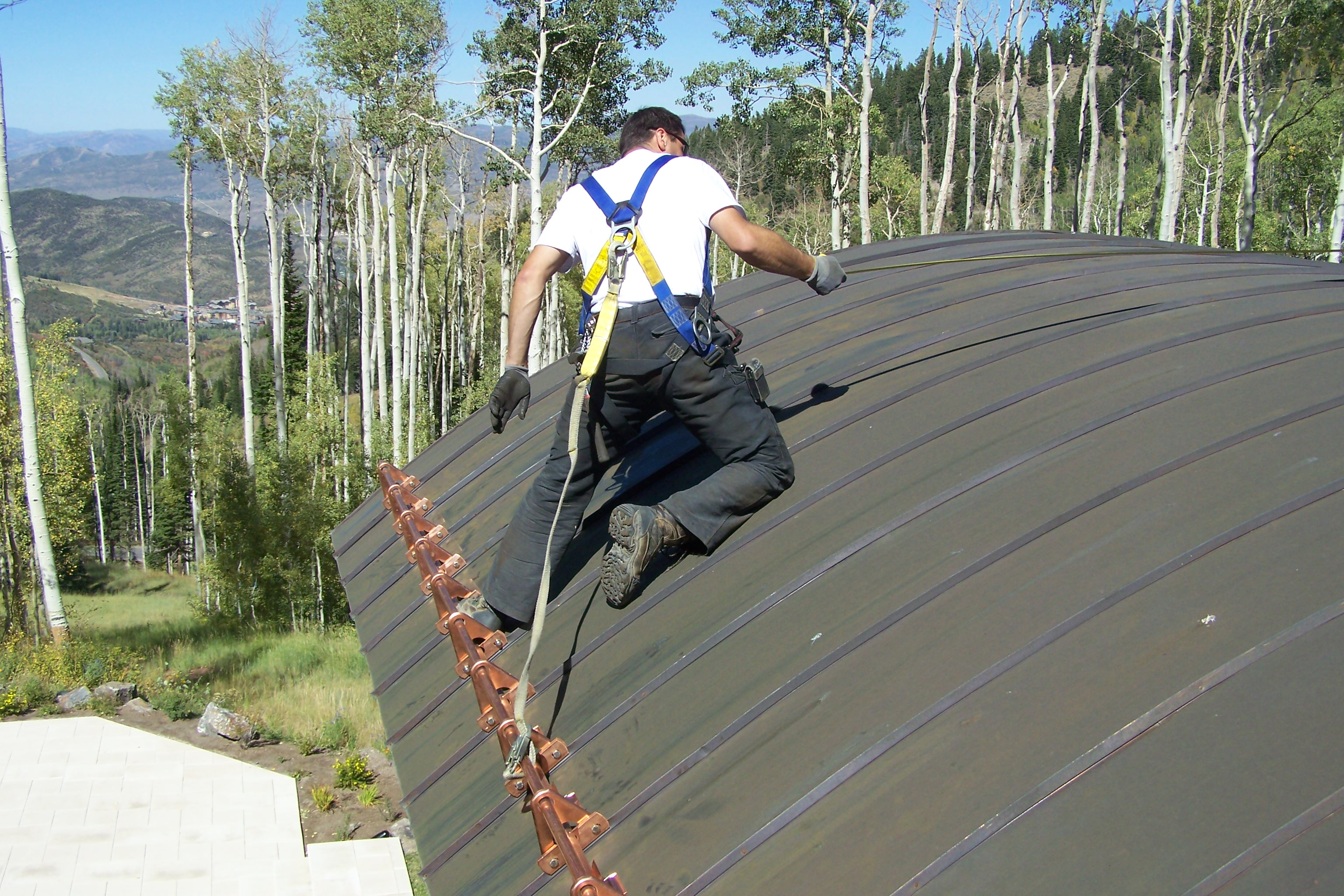 Snow Fence For Snow Abatement On Roofs Fine Metal Roof Tech