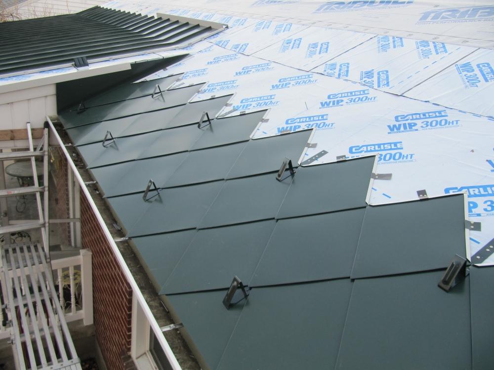 custom colored snow hooks for steel roof