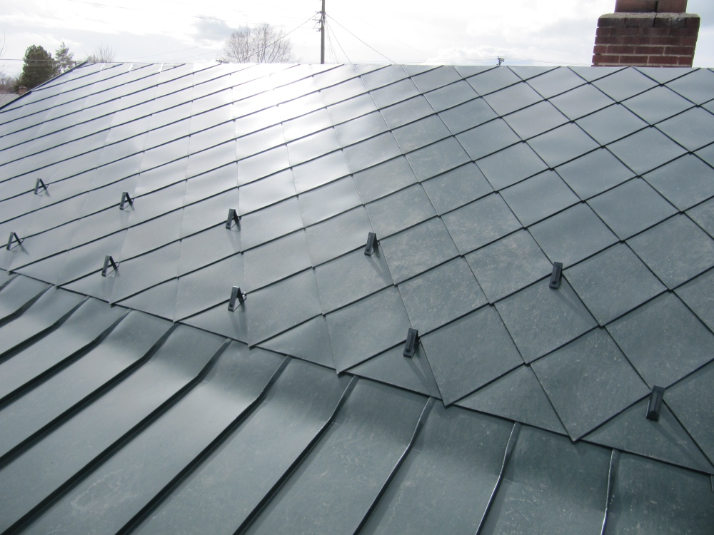 steel snow guards painted to match steel roof