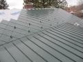 snow brackets match metal roof
