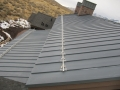 aluminum snow guards with ice stopper for standing seam roof 2