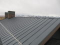 aluminum snow guards with ice stopper for standing seam roof 3