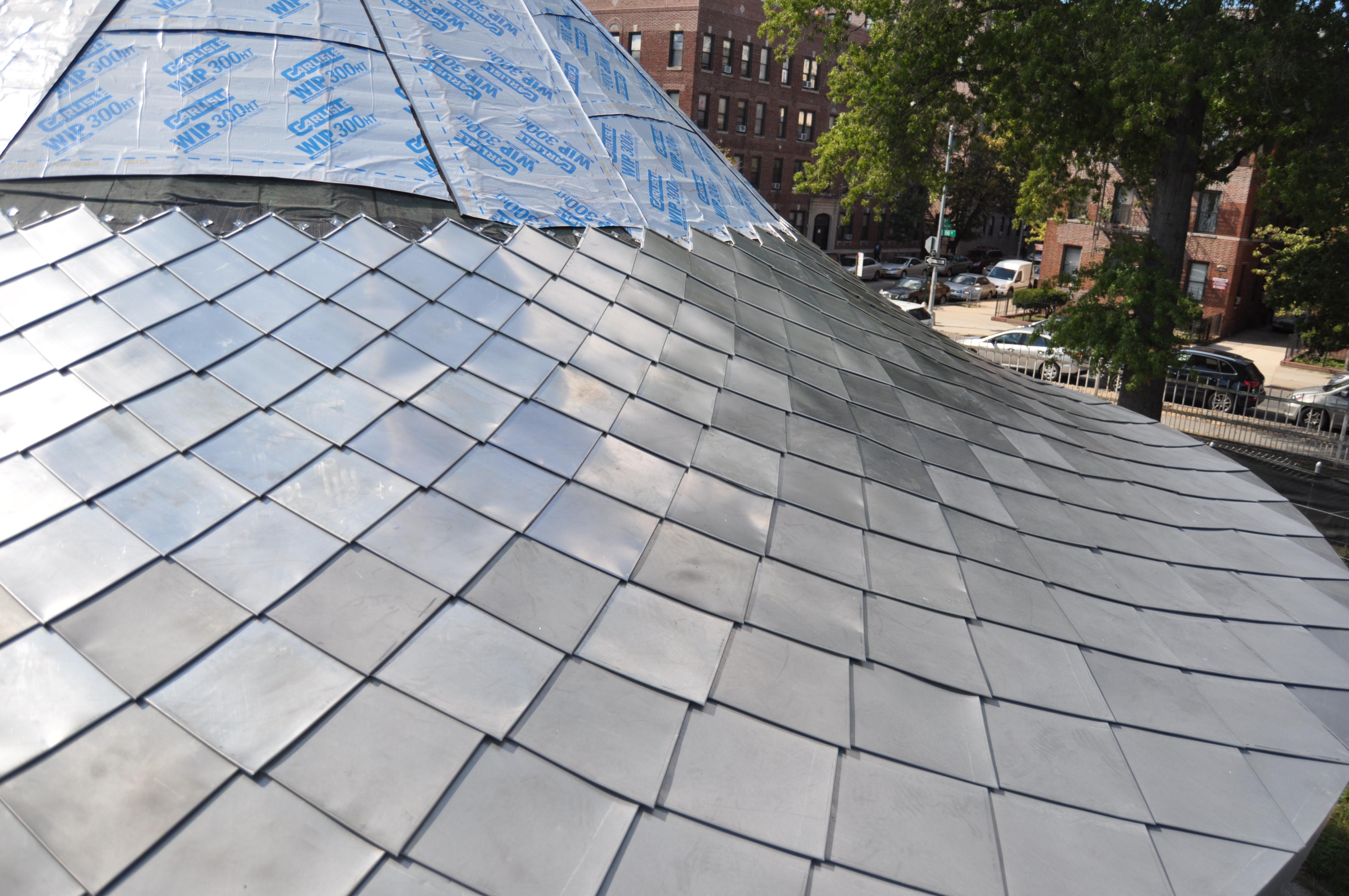 Terne Roof Shingle Turret Fine Metal Roof Tech