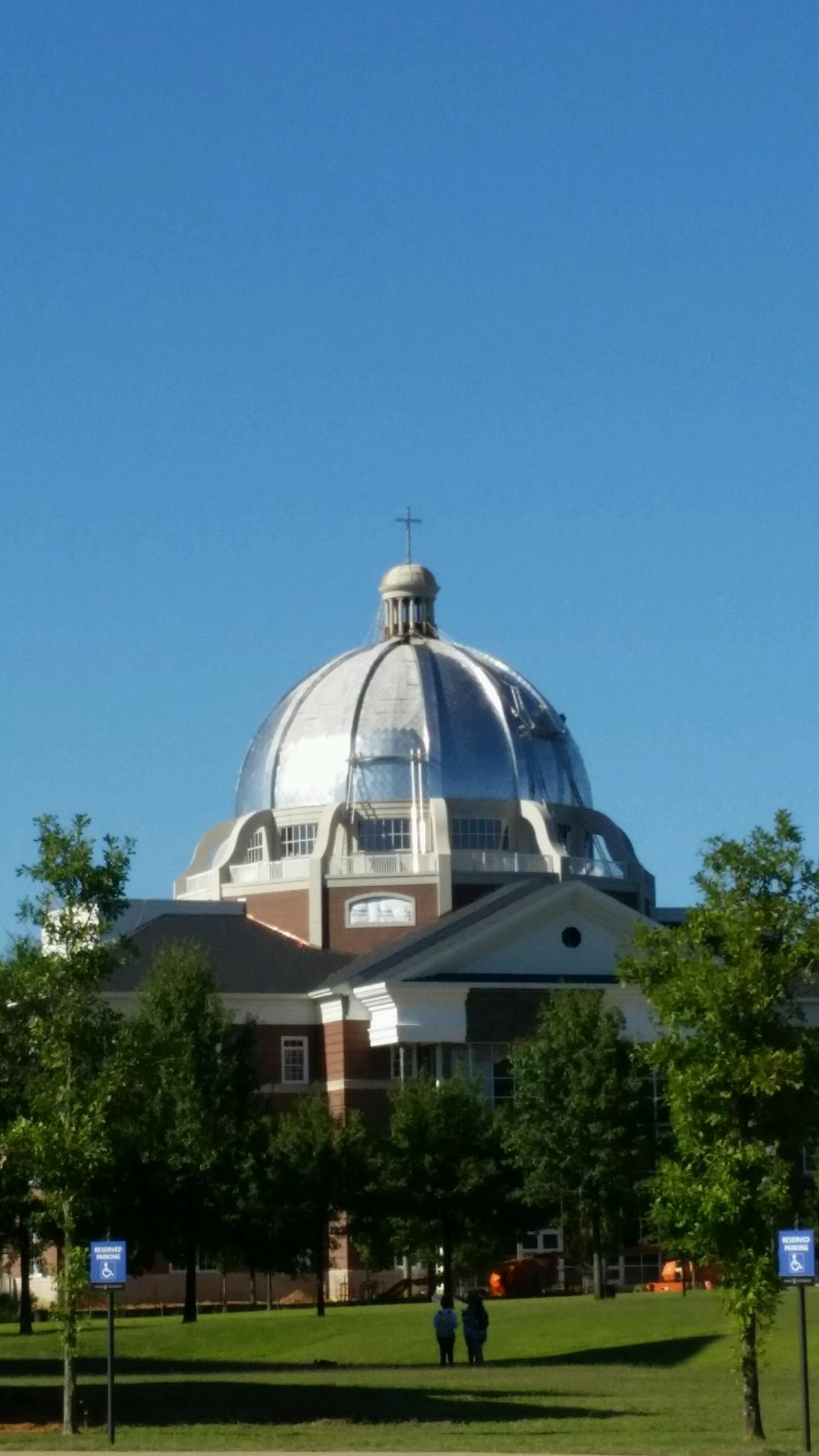 Terne stainless dome