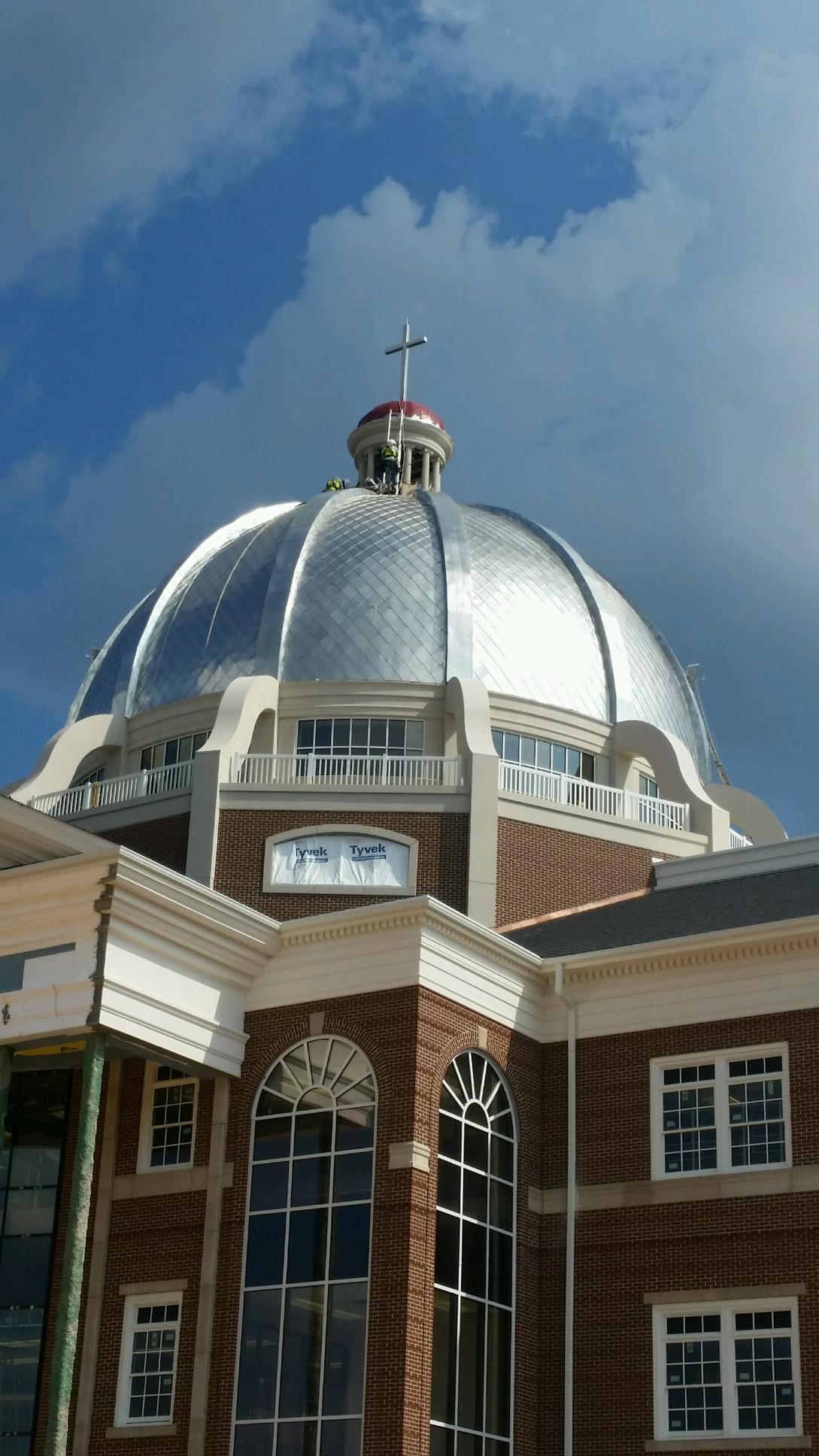 terne shingles dome