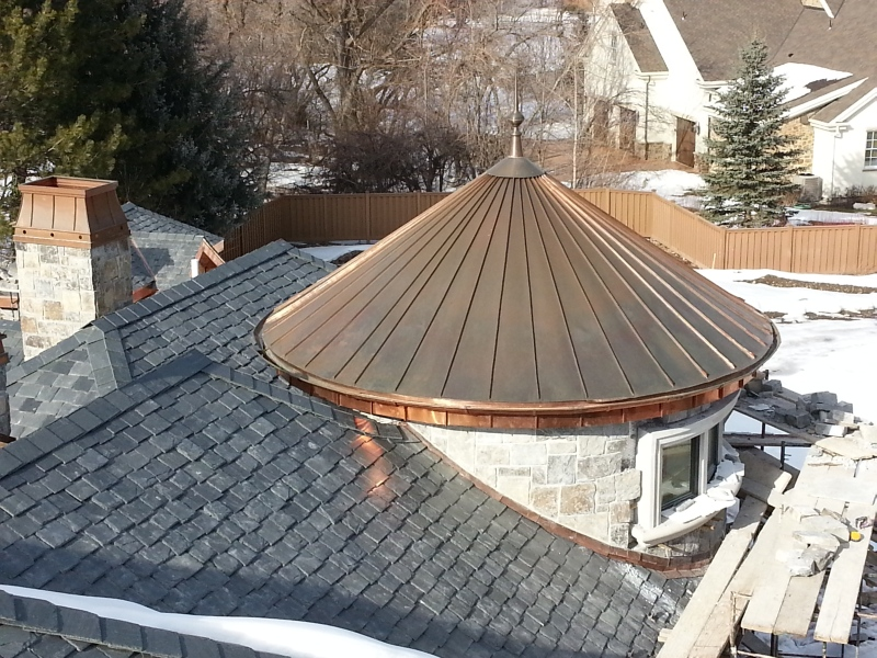 Turret Roof Construction Ideas Photo Gallery Home