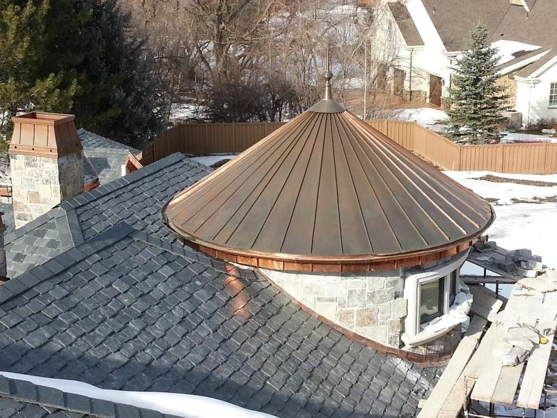 Metal Roof Turret Fine Metal Roof Tech