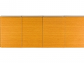 Quadro panel in galvalume with wood grain finish Autumn