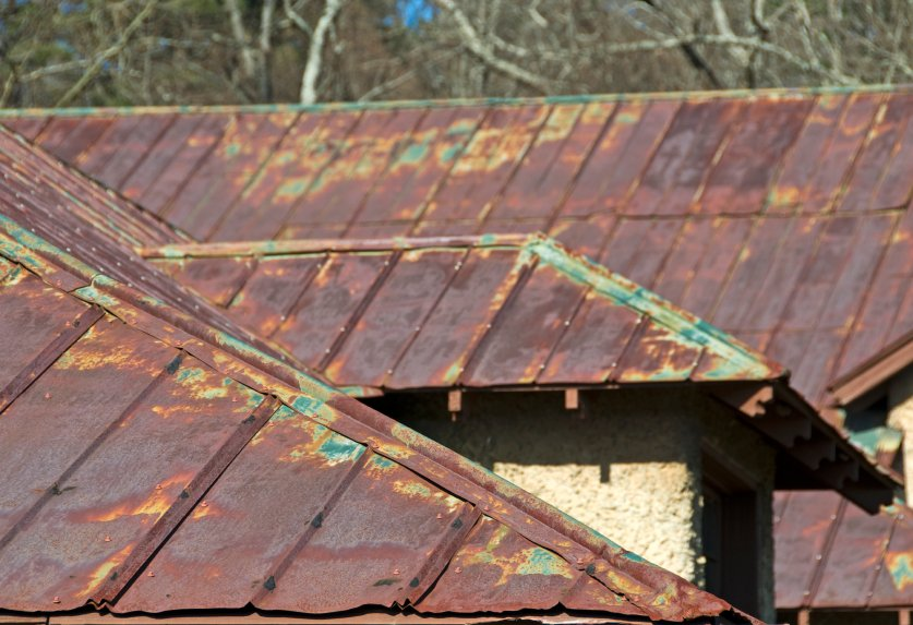 Rustic Finishes Fine Metal Roof Tech