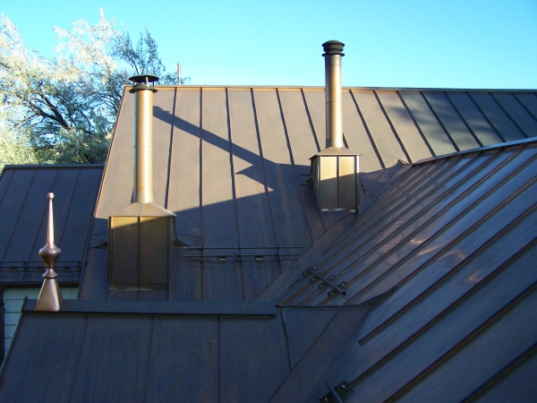 Ridge And Hip Caps For Standing Seam Roofs Fine Metal