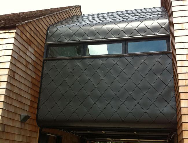Aluminum Shingle Cladding Hamptons Ny Fine Metal Roof Tech