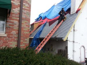 Installing Zinc Shingle Roof Fine Metal Roof Tech
