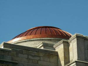 copper dome roofing