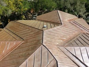 Copper Standing Seam Roof Panels Fine Metal Roof Tech